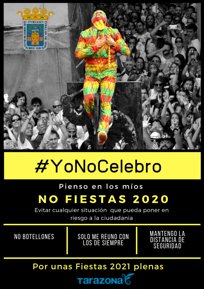 """El Ayuntamiento de Tarazona lanza una campaña de """"No Fiestas"""""""