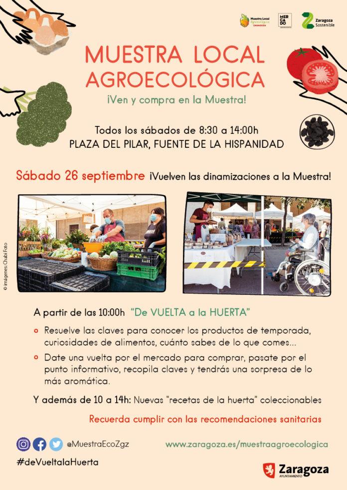 Regresa la Muestra Agroecológica de Zaragoza