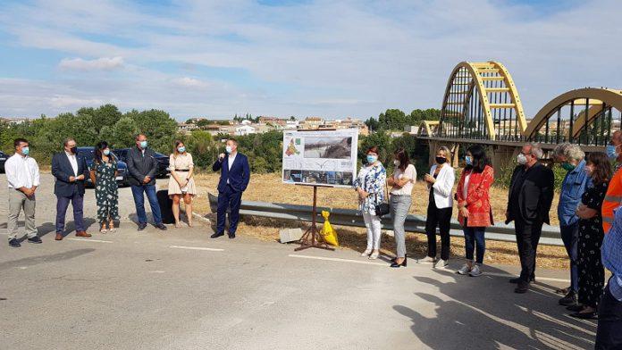 Reapertura al tráfico del puente de Sástago tras las obras de reparación