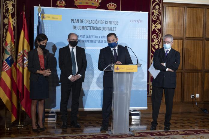 Teruel acogerá un Centro de Competencias Digitales del grupo Renfe