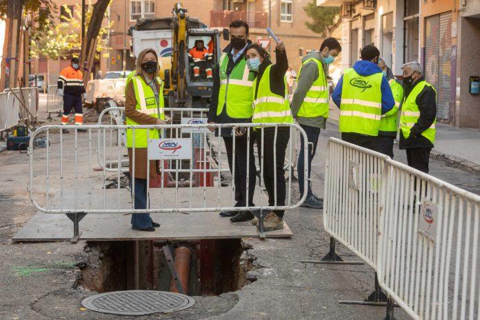 Zaragoza incrementa un 50% el presupuesto para obras en la red de saneamiento