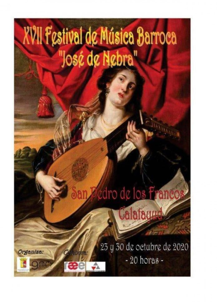 Calatayud se llena de música barroca con el Festival José de Nebra