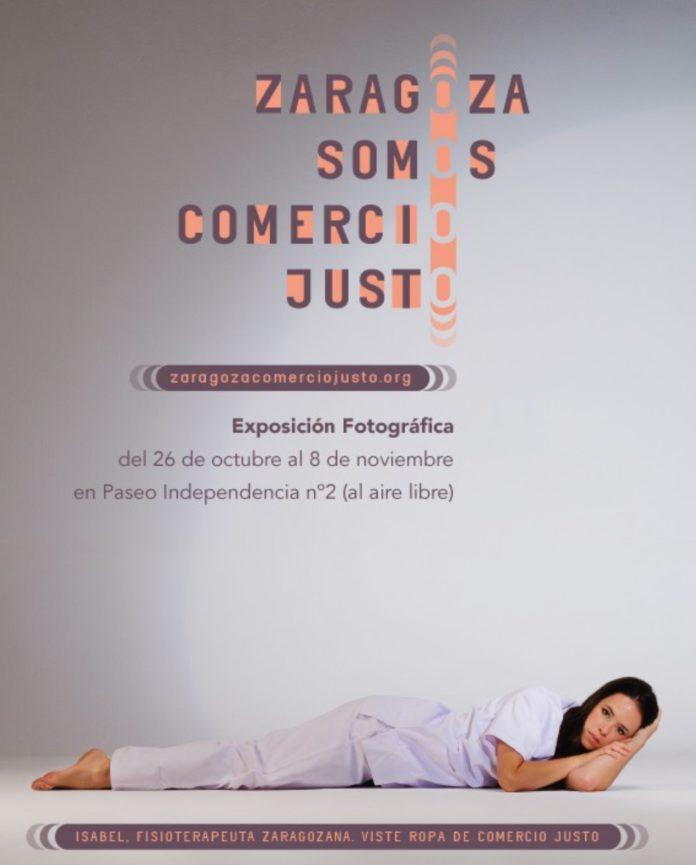 Una exposición muestra los rostros del Comercio Justo en Zaragoza