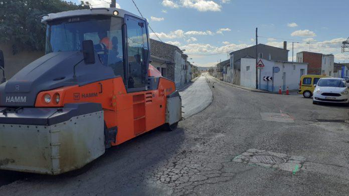 Mejora de la travesía de Leciñena, en la carretera A-129