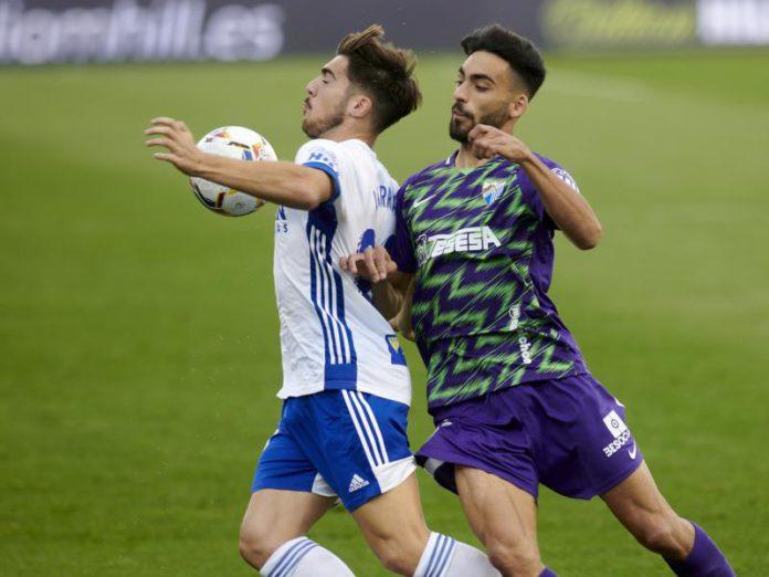 El Real Zaragoza cae ante el Málaga y pierde su primer partido