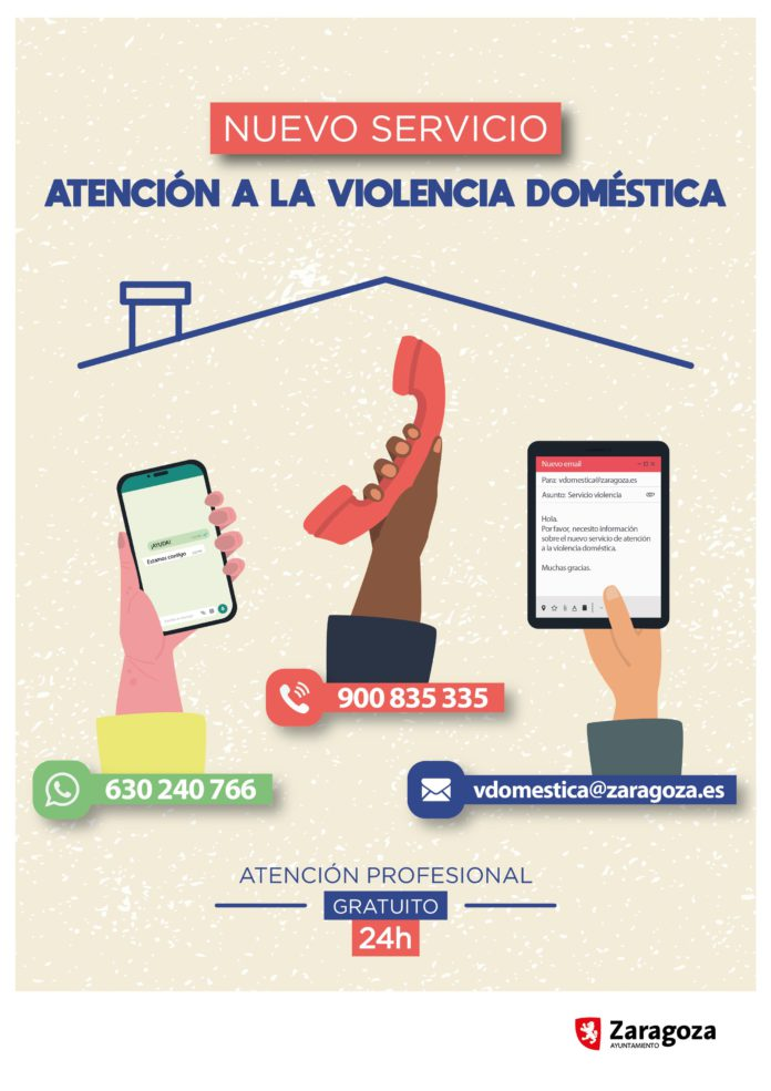 Zaragoza ofrece un nuevo servicio para erradicar la violencia doméstica