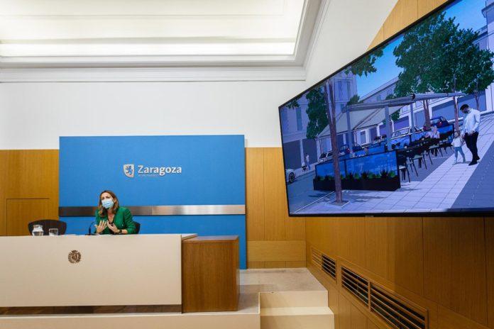 Zaragoza facilitará la instalación de estufas en las terrazas y veladores