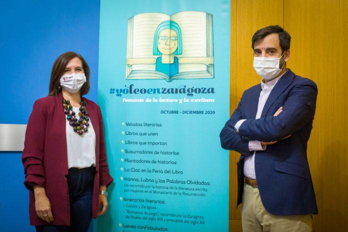 Veladas e itinerarios o visitas teatralizadas, eventos para un otoño literario en Zaragoza