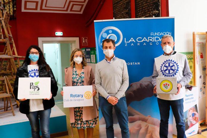 """Rotary Club Zaragoza reparte """"Tisanas de los Templarios"""" para paliar la Covid-19"""
