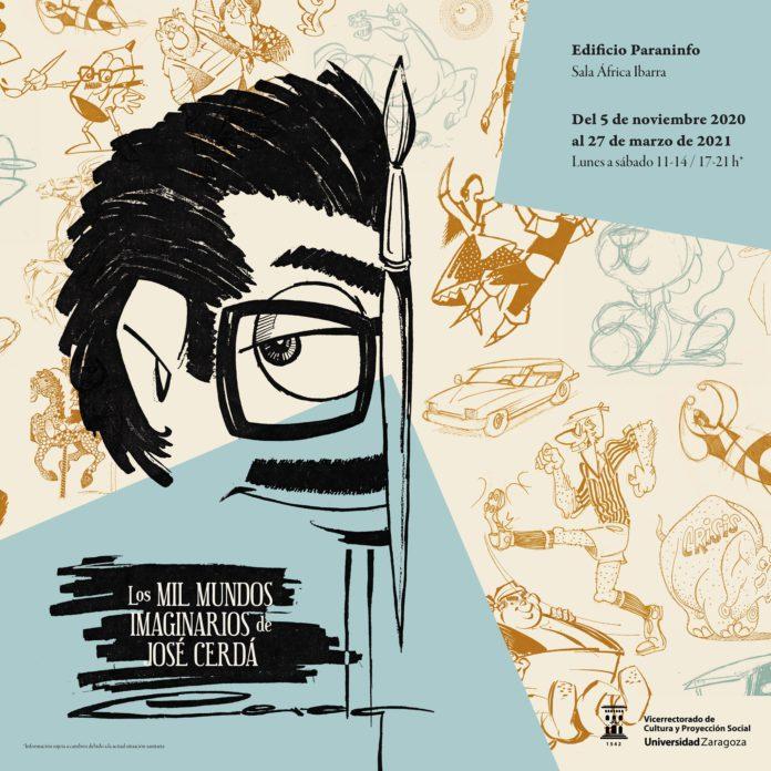 La Universidad de Zaragoza inaugura una exposición-homenaje a José Cerdá