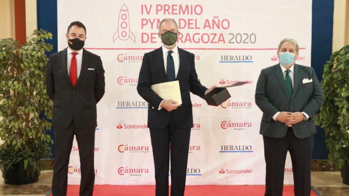 Comercial Salgar, Premio Pyme del Año 2020 de Zaragoza