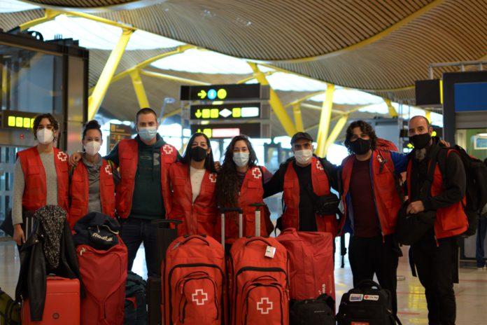 Cruz Roja Zaragoza ofrece apoyo a la asamblea de Gran Canaria