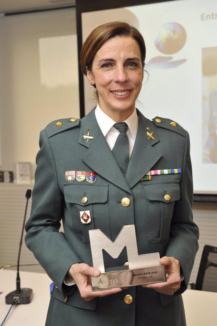 La teniente coronel Silvia Gil, primera mujer que dirigirá una Comandancia de la Guardia Civil