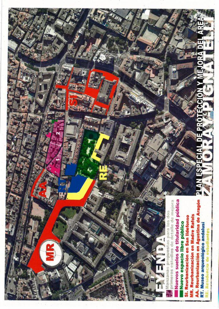 Presentado el Plan Especial de Protección y Mejora Zamoray-Pignatelli
