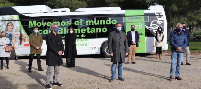 Zaragoza acoger una prueba pionera del primer autobús de biometano