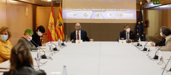 Aragón estudia medidas de apoyo al sector de la nieve