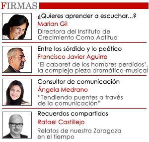 Opinión Zaragoza Buenas Noticias